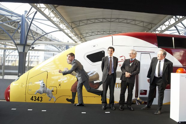 221011_0432_Brussels event 3 © 2011 Paramount Pictures and Columbia Pictures – Thalys.