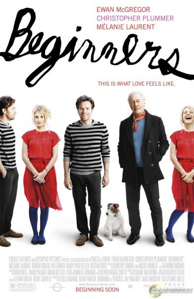 Beginners: a great film about love, death, hope and tolerance…