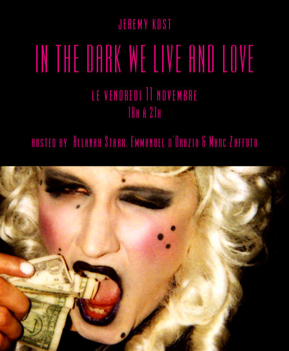 Jeremy Kost: In the dark, we live and we love.