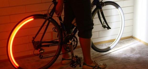 Revolights -LED  wheels for bike
