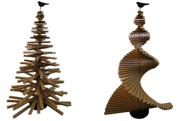 Design Museum Celebrates Christmas With The World's Tallest Cardboard Christmas Tree