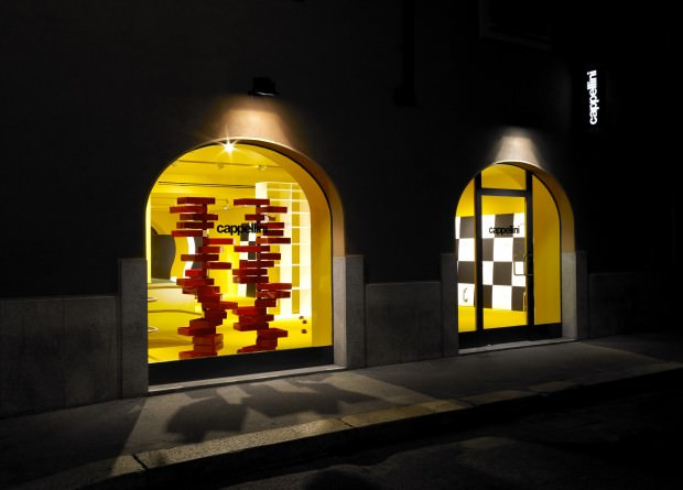New Cappellini Designed Showroom in Milan