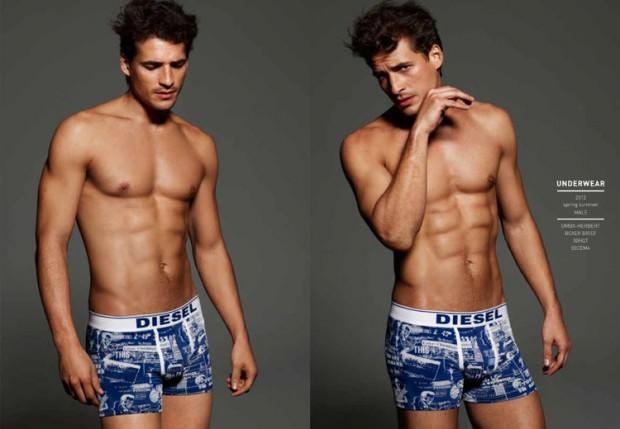 Tags: Diesel, diesel underwear S/S 2012, jean carlos, Sexy Men, Sexy Model