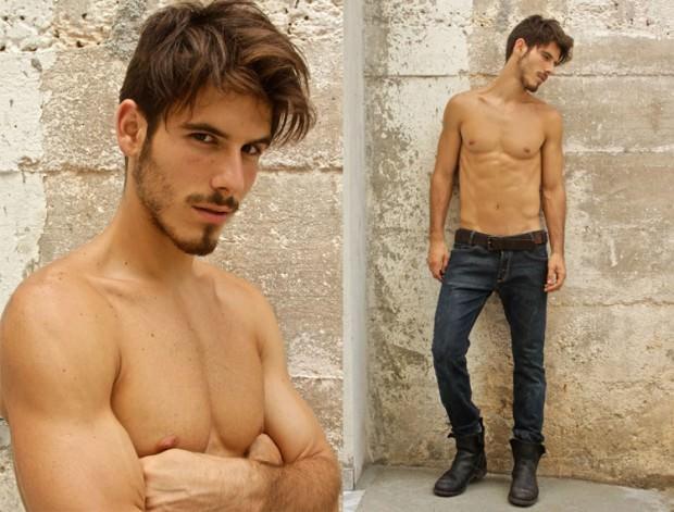 Lucas Bernardini at Ford Models