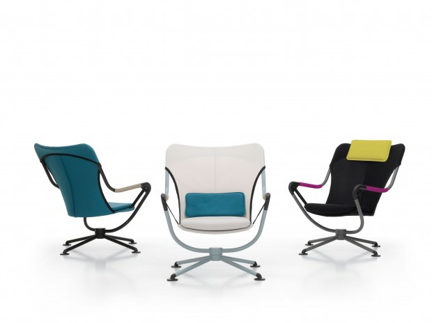 The Waver Lounge Chair by Konstantin Grcic for Vitra