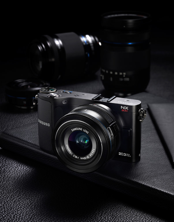 The Samsung NX210:  Smart Compact Digital Camera