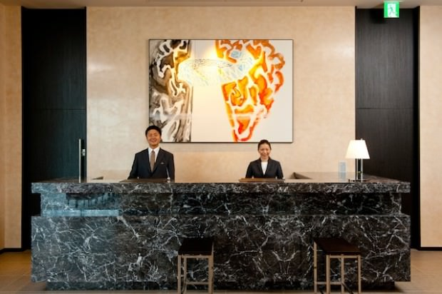 A New Door to Historic Tokyo : The Gate Hotel Kaminarimon