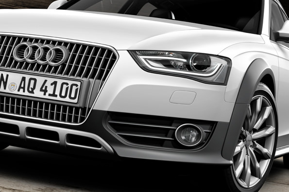 Audi A4 allroad quattro/Detail