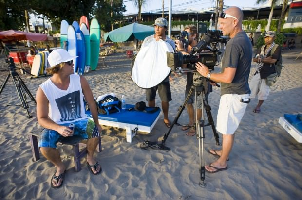 Bending Colours: Rewriting the Rulebook for Surfing Movies