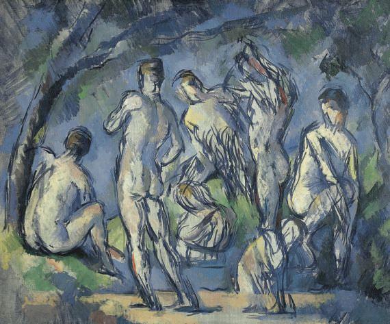 Cezanne-les-7-baigneurs