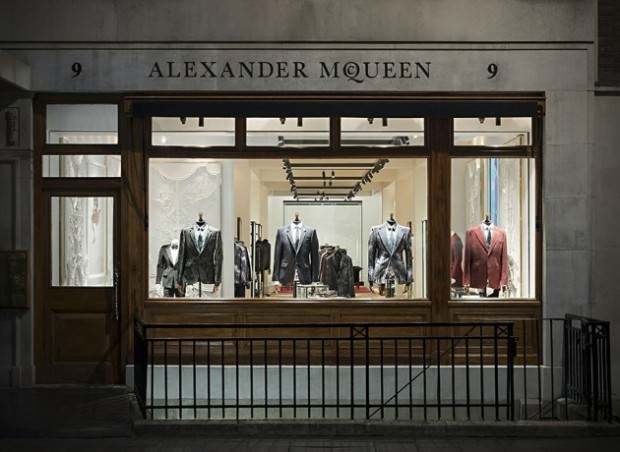 Alexander McQueen Men's Flagship Store in London