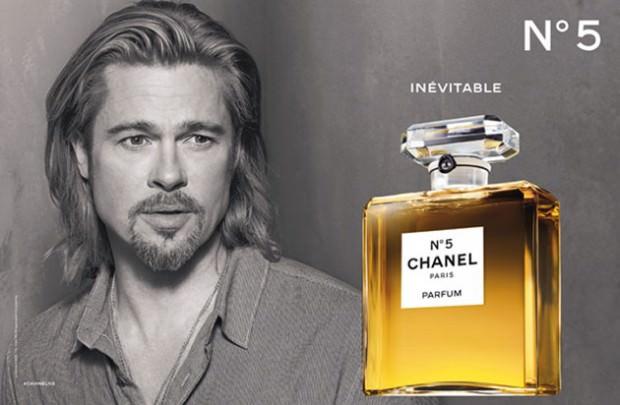 CHANEL N°5  Film Starring Brad Pitt