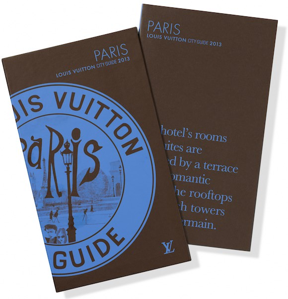 Louis Vuitton City Guide 2013: Paris