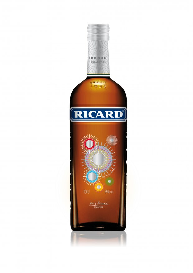 Ricard Limited Edition Bottle for Chrismas and New Year Season