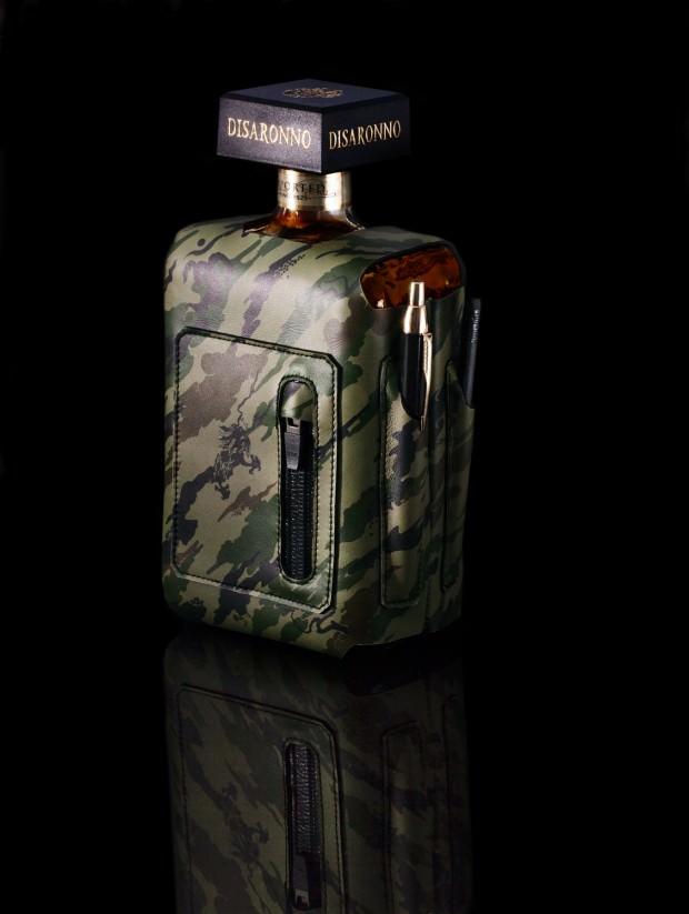 Maharishi & Bagjack for Disaronno Limited Edition Bottle Sleeve