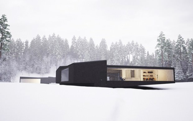 When a Purist Architecture Magnifies the Nature