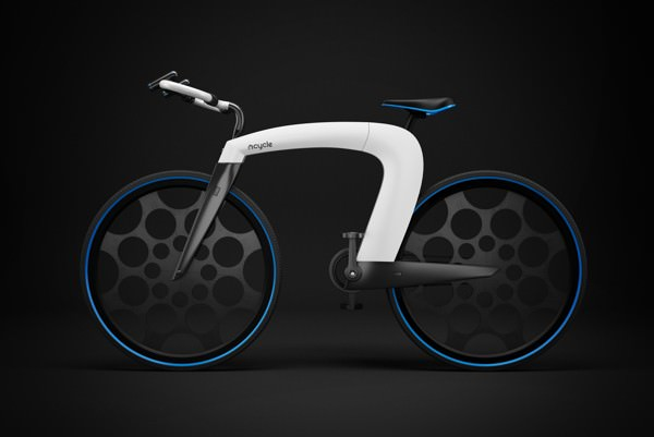 ncycle-black-background