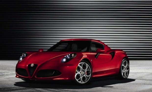 Alfa Romeo 4C: The Latest Sexy Italian Racer