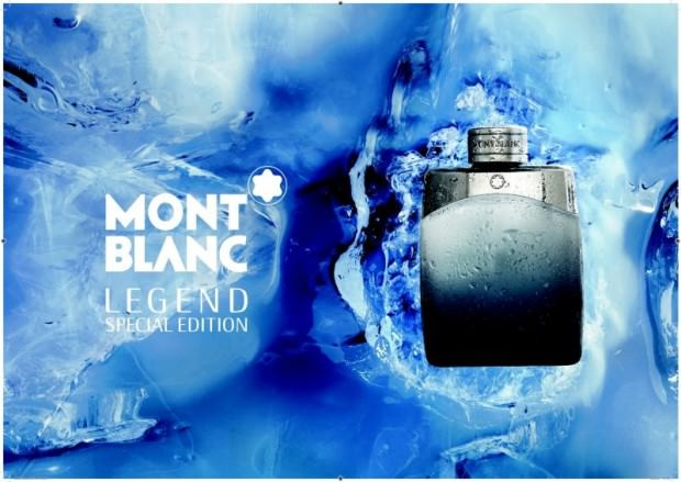 MONTBLANC LEGEND Limited Edition: A Magnificent Icy Scent