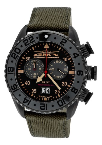 GMT-Chronographs: Glider or Vintage 59. Make Your Choice!