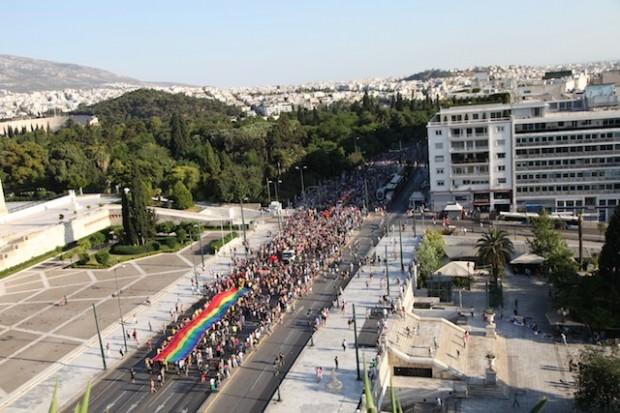 Athens Pride 2012 parade 2