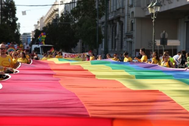 Athens Pride 2102 parade
