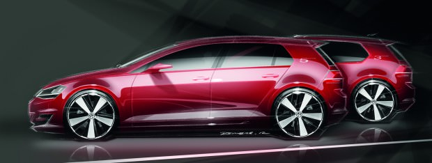Volkswagen Golf VII:  The Car of the Year 2013 Hits Bull's-Eye