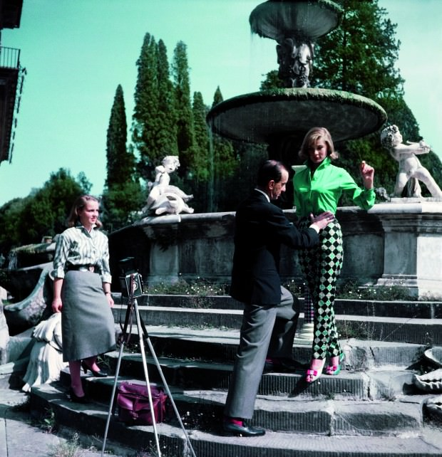 Emilio Pucci Arranges a Shoot