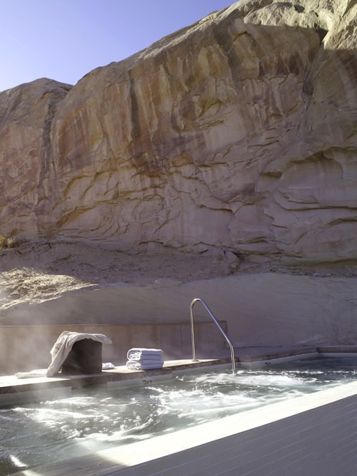 Amangiri - Main Swimming Pool Jacuzzi