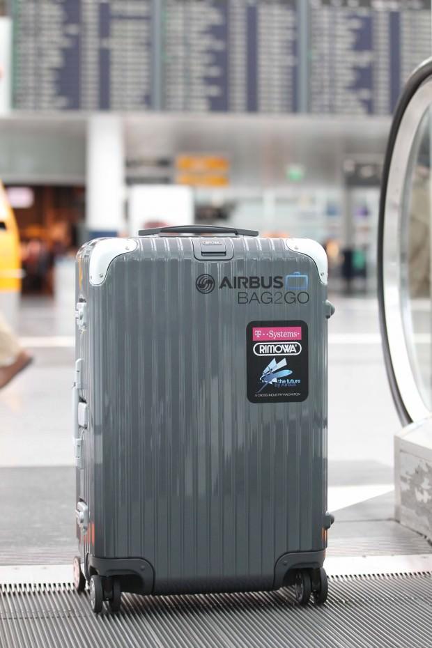 Airbus X Rimowa Bag2Go: Modern Baggage Travels Solo