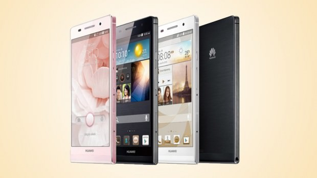 HUAWEI unveiled the World's Slimmest Smartphone: The Ascend P6