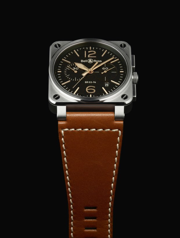 Bell & Ross BR03 Golden Heritage Watch Collection