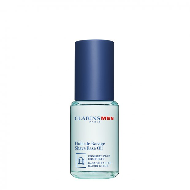 ClarinsMen Shave Ease Oil: For a Faster and More Comfortable Shave.