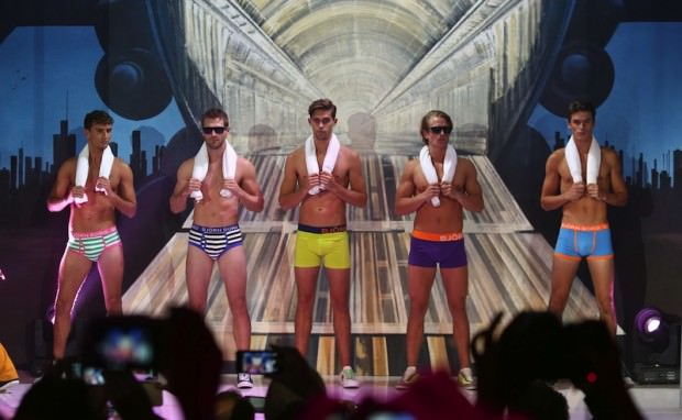 Björn Borg helps raise HIV awareness with Get It On tandem underwear for two!