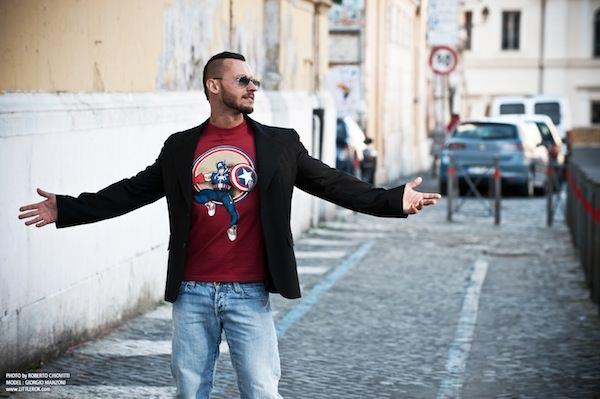 Foto Roberto Chiovitti Model: Giorgio Manzoni