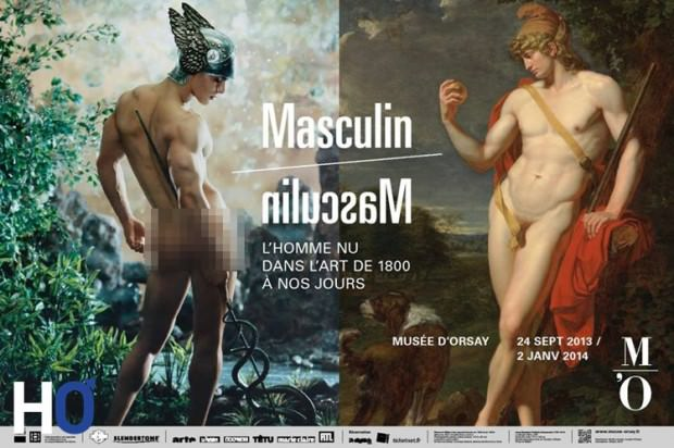 Masculin Masculin Affiche-expo1