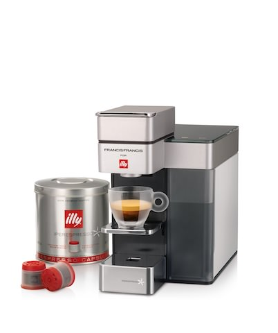 Y5 by illy: Well-designed, Stylish, and Efficient Coffee Machine