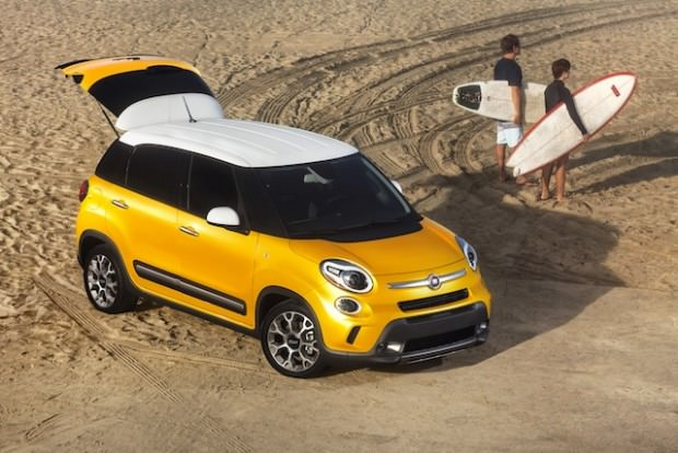 FIAT 500L Trekking: The Metropolitan Car with an Adventurous Soul