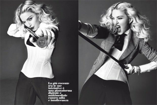 Madonna-Covers-LUomo-Vogue-MayJune-2014-By-Tom-Munro-1