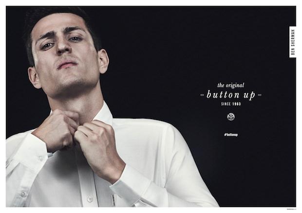 Ben-Sherman-Button-Up-White-Shirt
