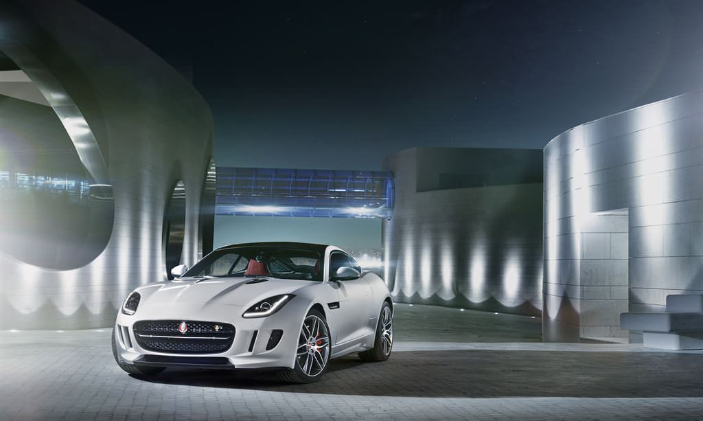 The Jaguar F-type Coupe: Fearsome, Loud, and Fast